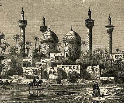 Bagdad, centro de traducción de obras científicas.