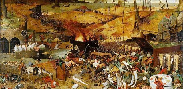 La gran epidemia de peste y la guerra de los Cien Años.
