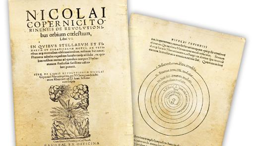Obra sobre las revoluciones de los cuerpos celestes.