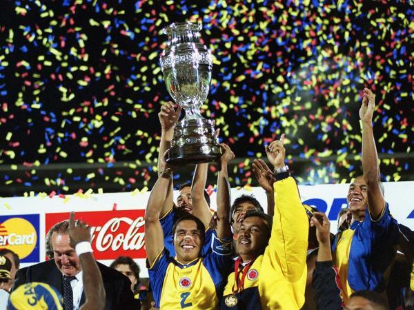 Colombia Champion of the America Cup
