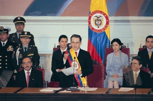 the government of Álvaro Uribe