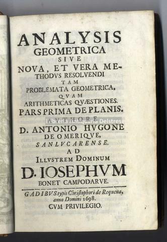 Analysis Geometrica