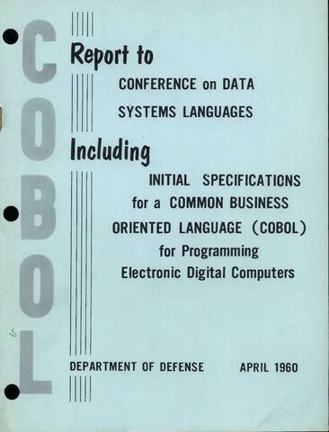 Lenguaje común orientado a la empresa (COBOL)