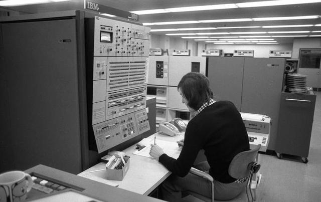 Los orígenes de la industria del software