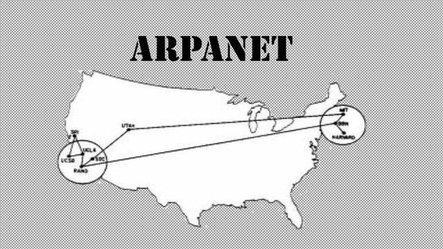 El primer mensaje de Internet