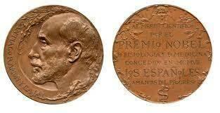 Santiago Ramón y Cajal (Premio Nóbel de Fisiología y Medicina).