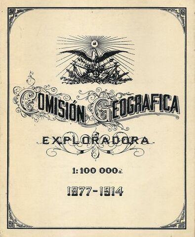 La Comisión Geográfico-Exploradora.