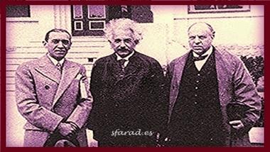 La visita que Einstein realizó a España.