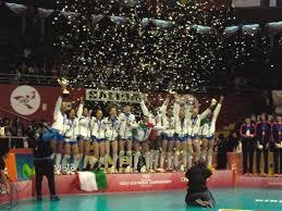 Se celebra la primera Copa Mundial de voleibol Femenina