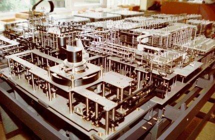 Primera computadora electromagnética programable con una cinta