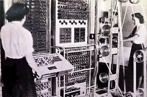 Alan Turing construye el Colossus