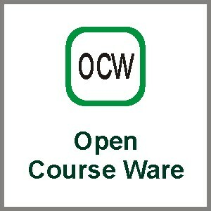 Recurso como The OpenCourseware Project.