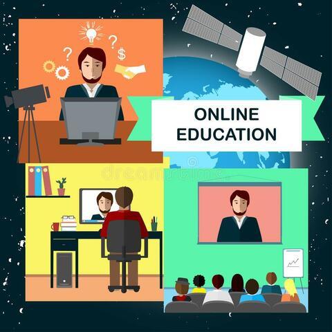 Educación vía online.