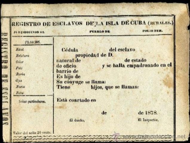 En España, el rey Alfonso XII decreta la abolición de la esclavitud en sus colonias de Cuba.