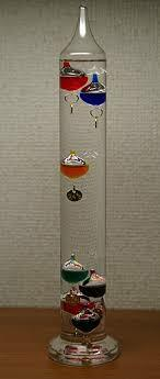 El termómetro de agua