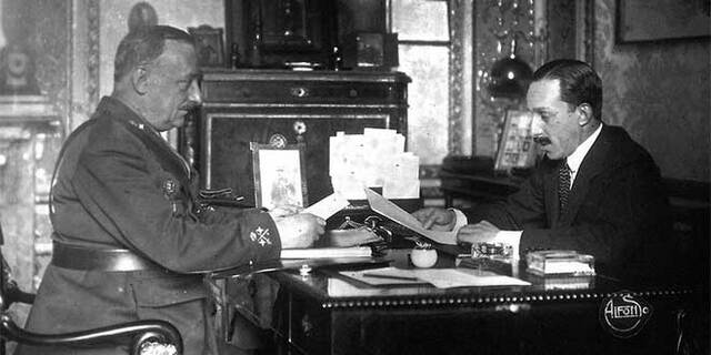 Comienza la dictadura de Miguel Primo de Rivera