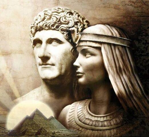 Muerte Marco Antonio y Cleopatra