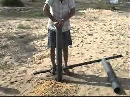 Nya's village starts drilling a well
