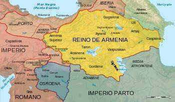 Conquista Armenia y Mesopotamia
