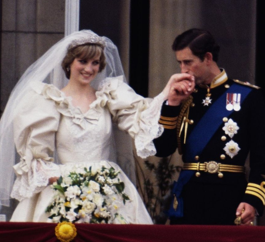 Matrimonio del principe Carlo con Diana Spencer