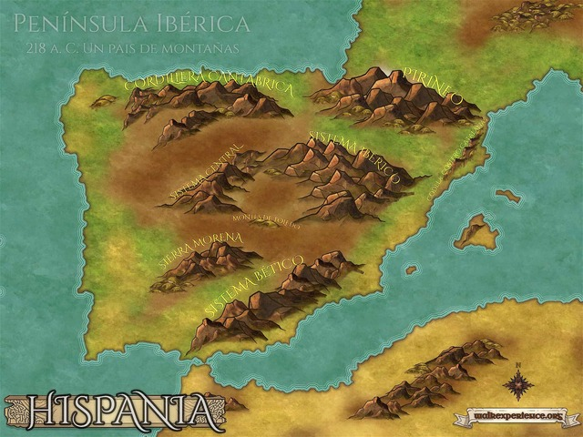 Concluye conquista de Hispania