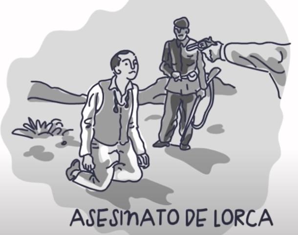 Federico García Lorca es fusilado