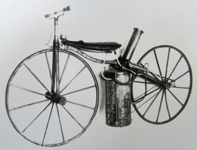 Primera moto conceptual