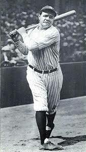 Babe Ruth became the first player to hit 60 homeruns in one year