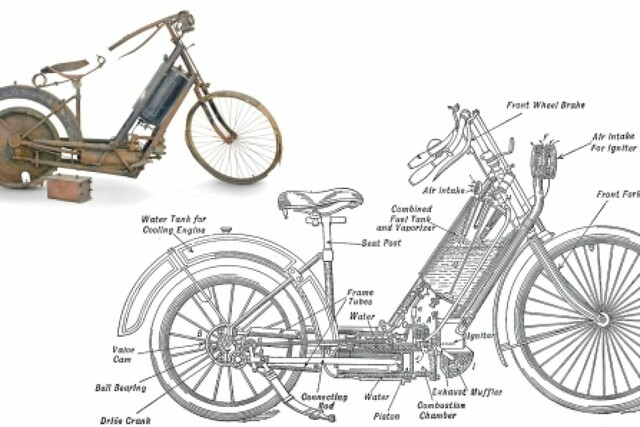Primera moto en serie