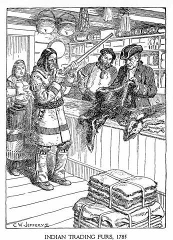 La fin du commerce des fourrures