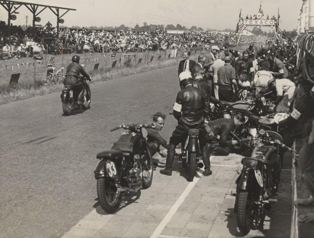 Auge de las carreras de motos
