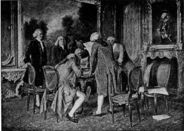 Signing of the Treaty of Paris