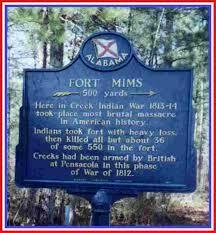 Creek Tribe at Fort Mims