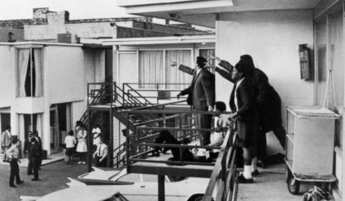 Assassination of MLK in Memphis, Tennessee