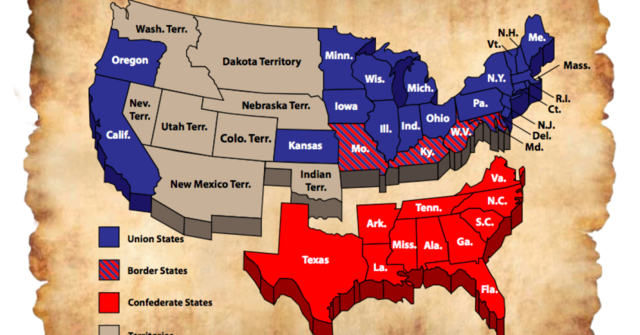 The south states secede