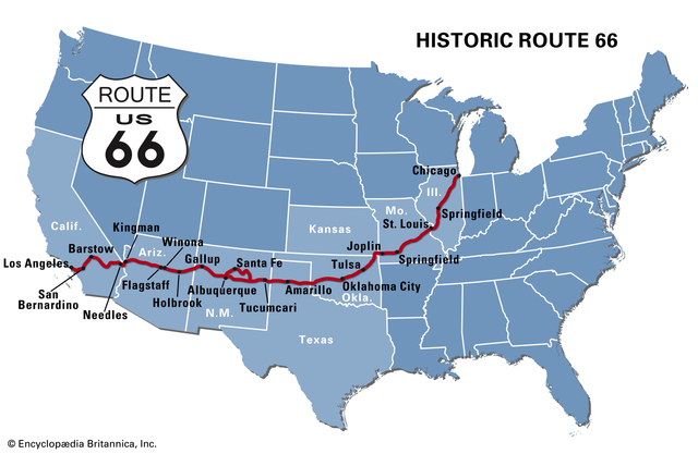 Creation of Route 66