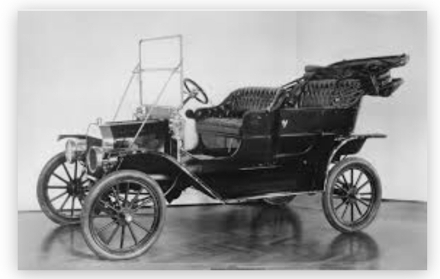 The Model T + The First Assembly Line