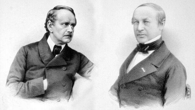 Matthias Jacob Schleiden y Friedrich Theodor Schwann