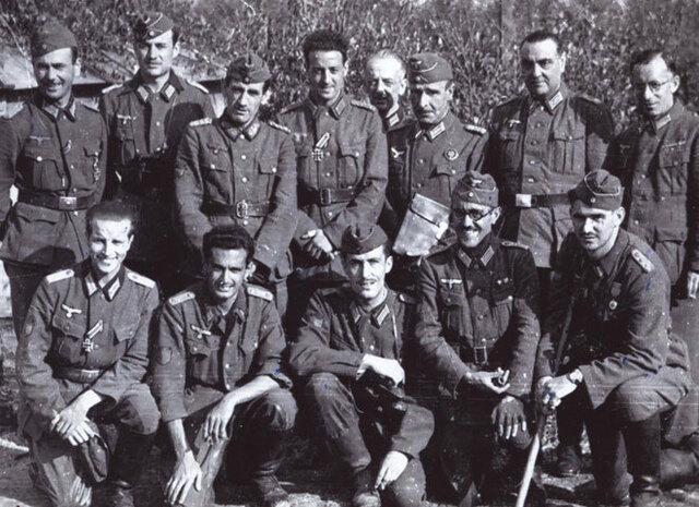 División Azul mandada a luchar junto a Hitler