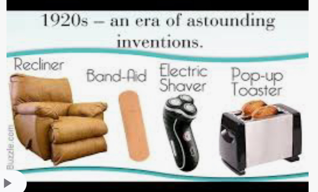 New Inventions of the 20s