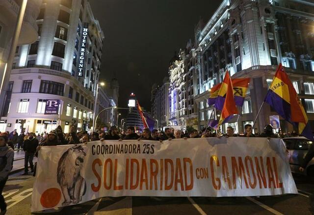 Manifestaciones en el resto del Estado español