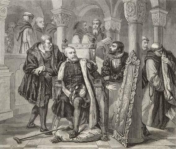 Abdicació de Carles V