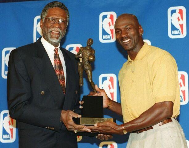 Tercer MVP de Jordan