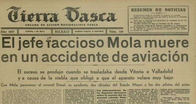 MORT DEL GENERAL MOLA