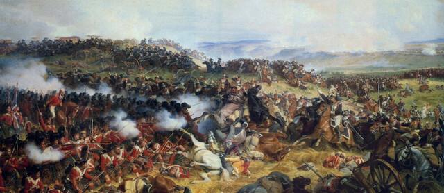 Batalla de Waterloo i la caiguda de Napoleó