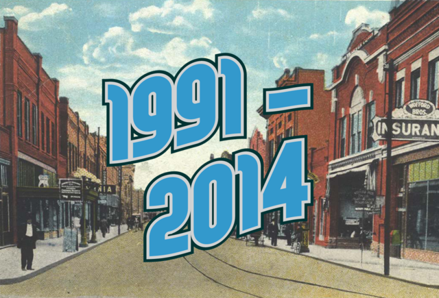 1991-2014: THE MALL THAT WAS A TOWN