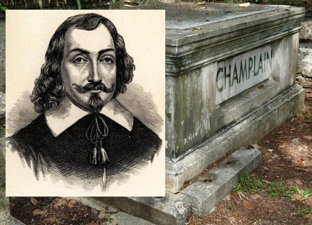 Samuel Champlain's death