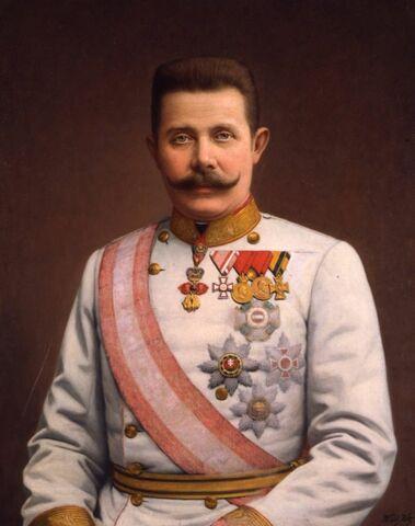 Archiduque Francisco Fernando.