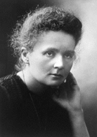 Marie Curie: Nobelprijs voor natuurkunde