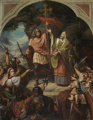 Batalla de Covadonga. Creación del reino de Asturias